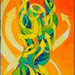 femme_fleche_acrylique_mmk_sitbonn_myriam