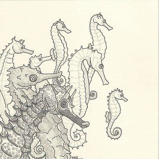 Cartes hippocampes