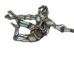 humain_robot_aquarelle_mmk_myriam_sitbon